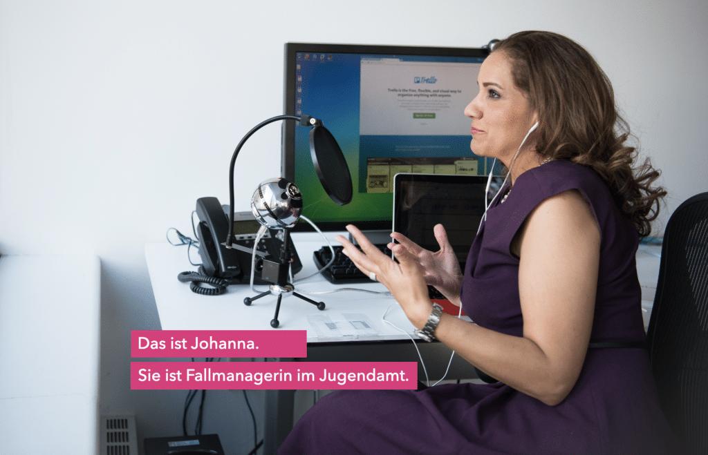 Annakolleg Augsburg – Marketingpersona Johanna