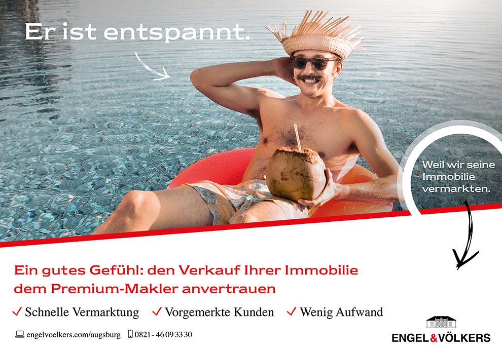 Charismarcom-Werbekampagne Engel & Völkers Citygalerie