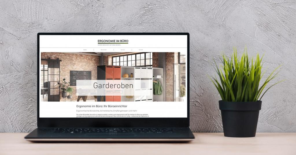 Ergonomie im Büro – Website