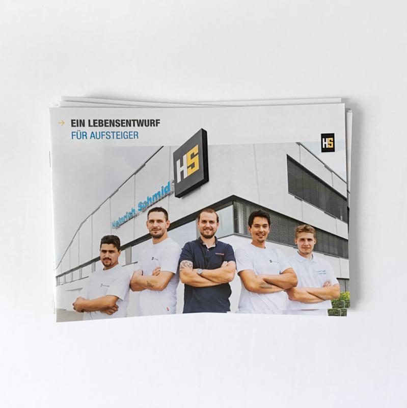 Personalmarketing für Heinrich Schmid GmbH – Flyer
