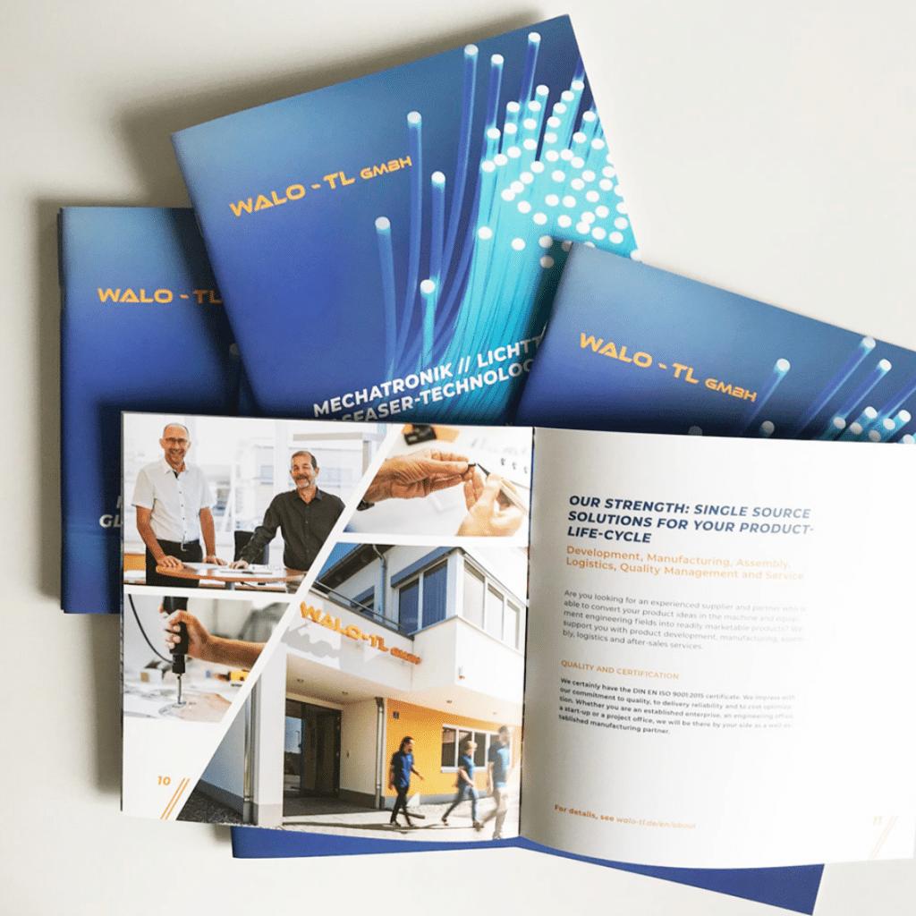 Corporate Refresh und Marketingkampagne für WALO – TL GmbH