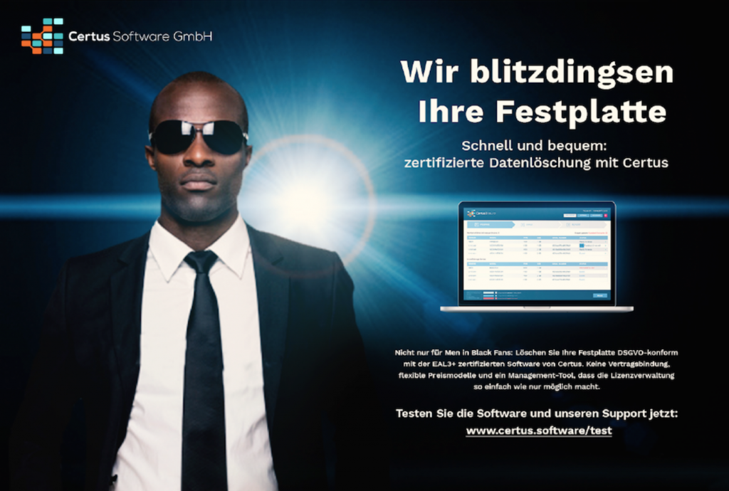 Marketingkampagne für Certus Software