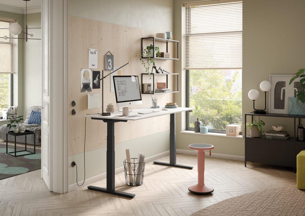 Ergonomie im Büro – Schreibtisch Crew stehend