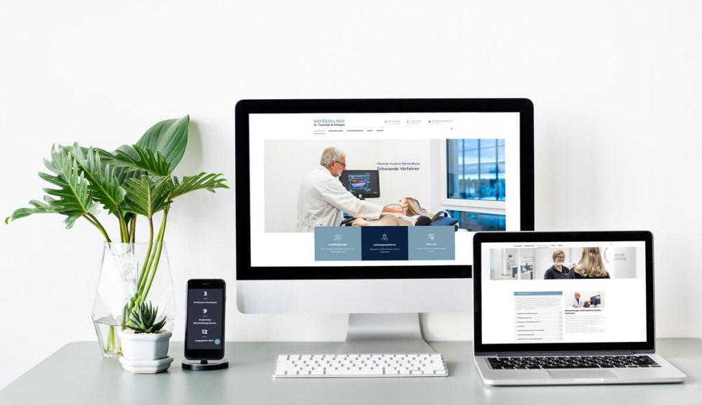 Webseite | Referenz Agentur Charismarcom