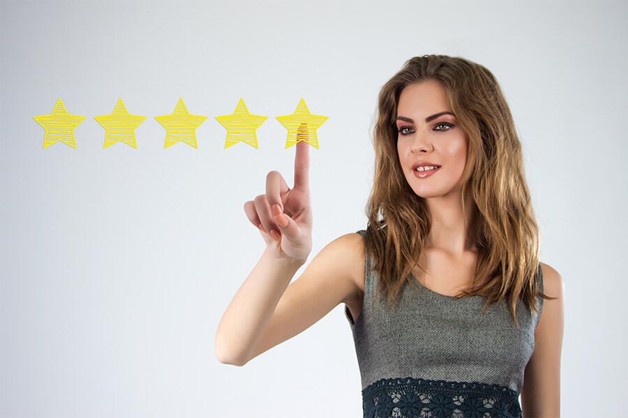 Google Rezension: 5-Sterne-Bewertung